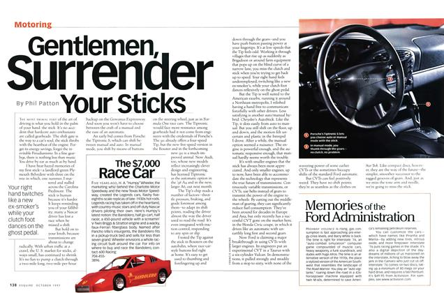 Article Preview: Gentlemen, Surrender Your Sticks, OCTOBER 1997 1997 | Esquire