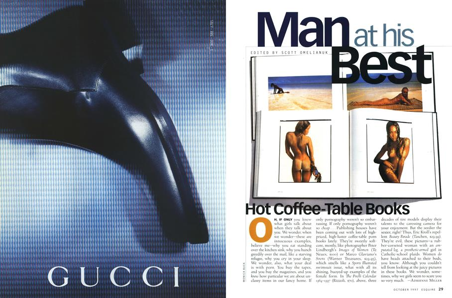 Hot Coffee Table Books Esquire October 1997