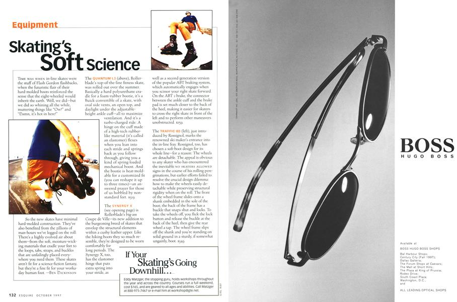 Skating's Soft Science | Esquire | OCTOBER 1997