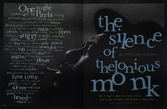 The Silence of Thelonious Monk - November | Esquire