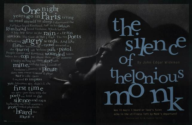 Article Preview: The Silence of Thelonious Monk, NOVEMBER 1997 1997 | Esquire