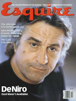 Cover for the December 1997 issue