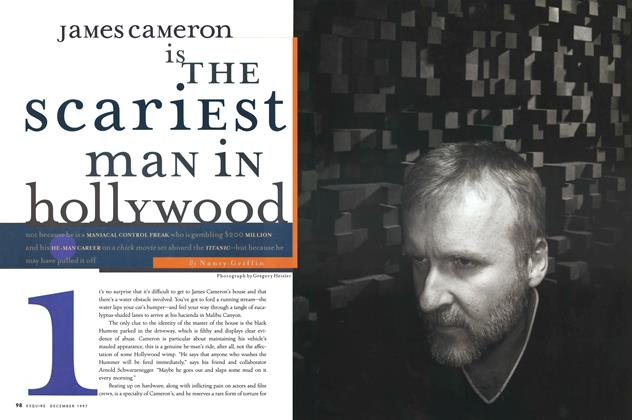 James Cameron Is the Scariest Man in Hollyood