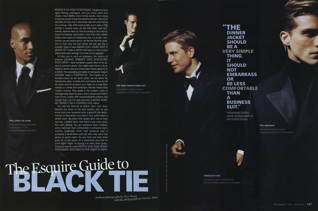 The Esquire Guide to Black Tie