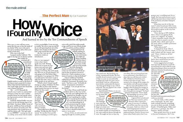 How I Found My Voice