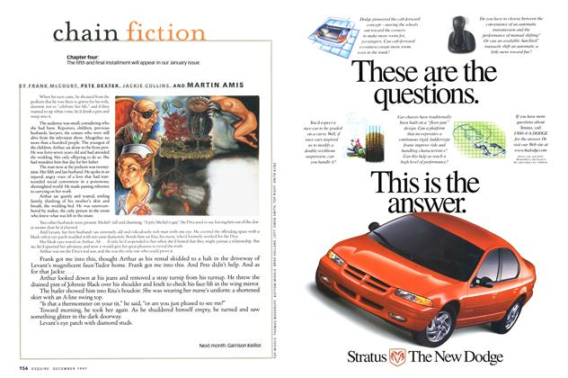 Article Preview: Chain Fiction, December 1997 | Esquire