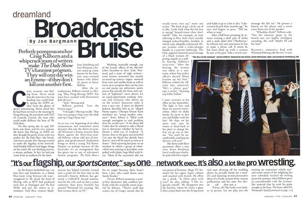 Article Preview: Broadcast Bruise, January 1998 | Esquire