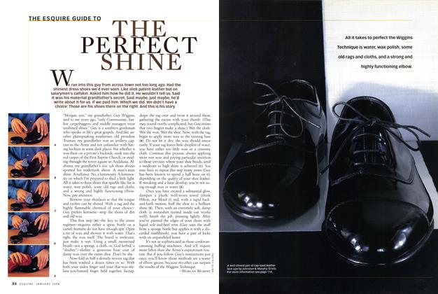 The Esquire Guide to the Perfect Shine