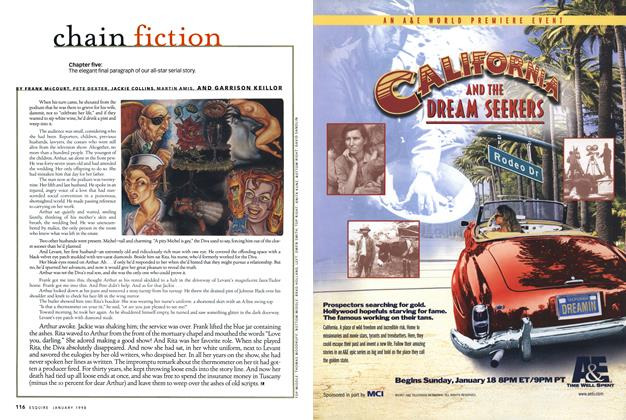 Article Preview: Chain Fiction, January 1998   Esquire