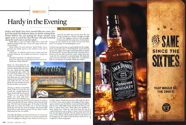 Article Preview: Hardy in the Evening, FEBRUARY 1998 1998 | Esquire
