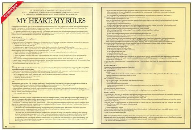 My Heart: My Rules