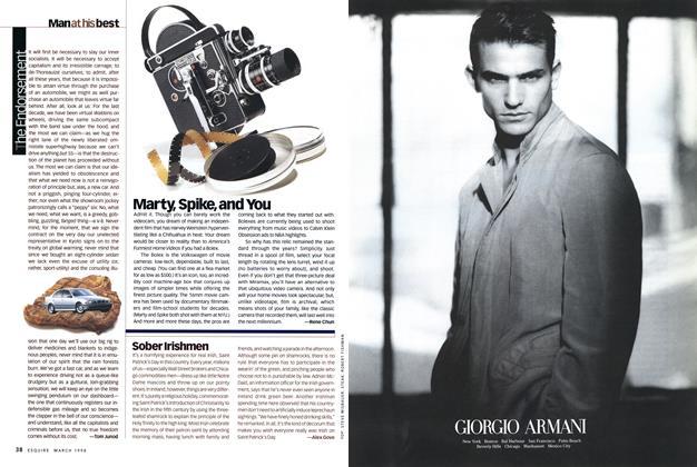 Article Preview: The Endorsement, MARCH 1998 1998   Esquire