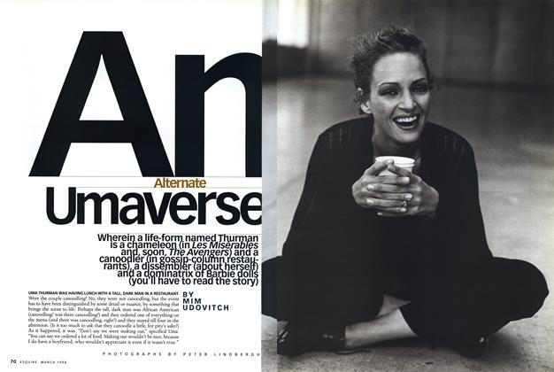 Article Preview: An Alternate Umaverse, MARCH 1998 1998 | Esquire