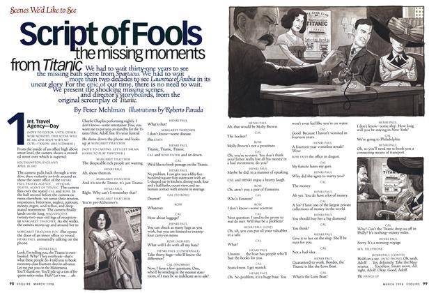 Script of Fools