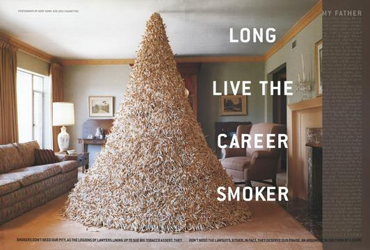 Long Live the Career Smoker - April | Esquire