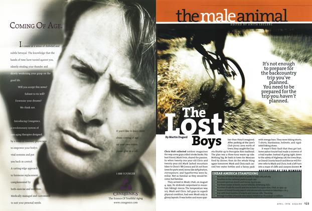 Article Preview: The Lost Boys, APRIL 1998 1998 | Esquire