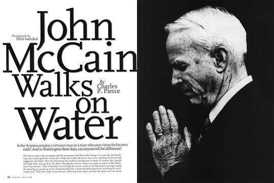 John McCain Walks on Water