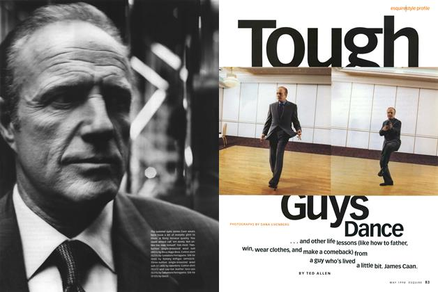 Article Preview: Tough Guys Dance, May 1998 | Esquire