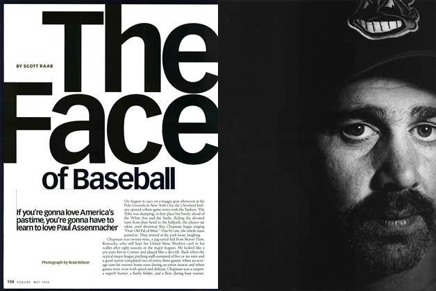 Article Preview: The Face of Baseball, May 1998 | Esquire