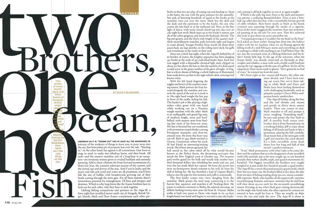 Two Brothers, One Ocean, No Fish