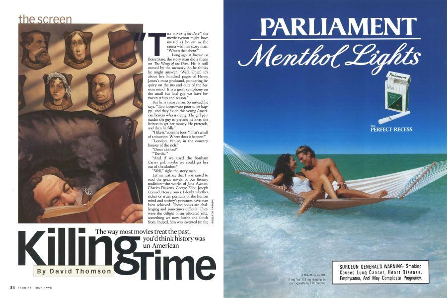 Killing Time | Esquire | JUNE 1998