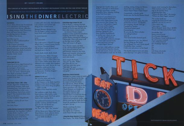 Article Preview: I Sing the Diner Electric, JULY 1998 1998 | Esquire