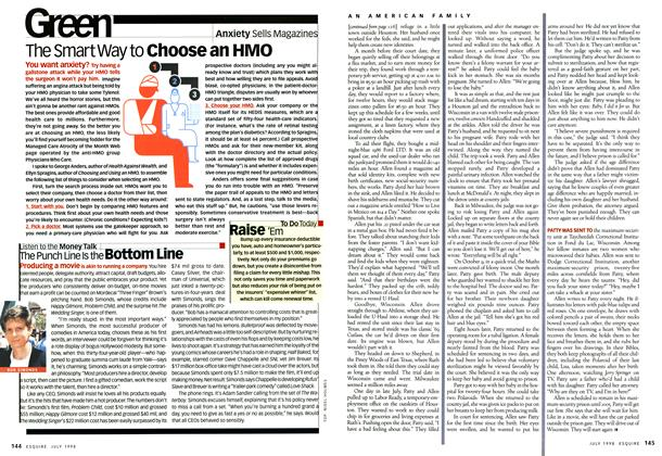 Article Preview: The Smart Way to Choose An Hmo, JULY 1998 1998 | Esquire