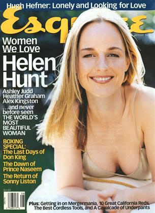 Cover for the August 1998 issue