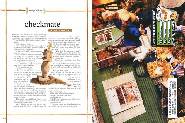 Article Preview: checkmate, AUGUST 1998 1998 | Esquire