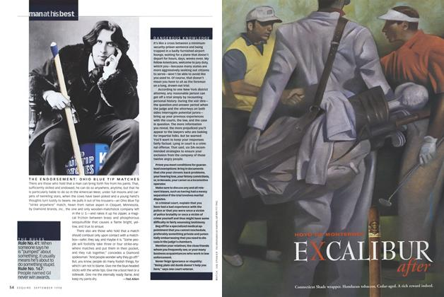 Article Preview: THE ENDORSEMENT: OHIO BLUE TIP MATCHES, SEPTEMBER 1998 1998   Esquire