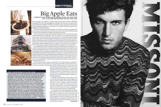 Article Preview: Big Apple Eats, SEPTEMBER 1998 1998 | Esquire