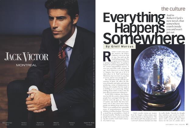 Article Preview: Everything Happens Somewhere, September 1998 | Esquire