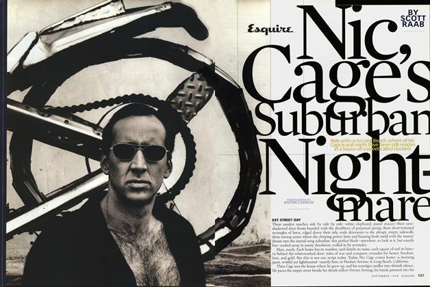 Nic Cage's Suburban Nightmare