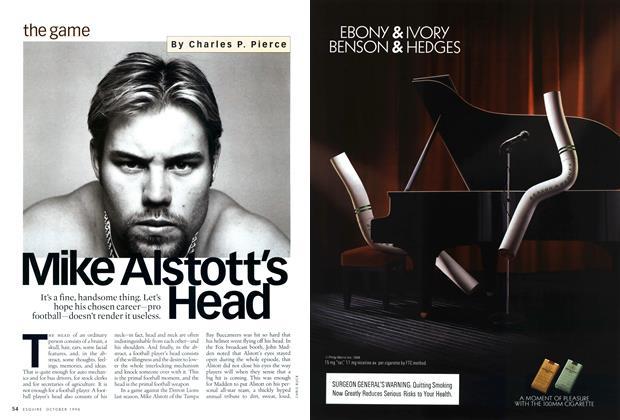 Mike Alstott's Head