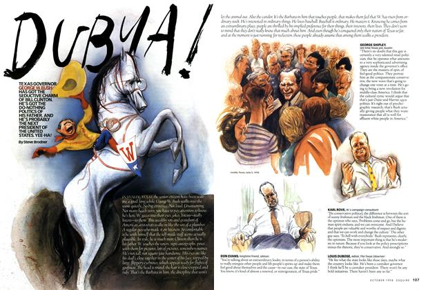 Article Preview: Dubya!, October 1998 | Esquire
