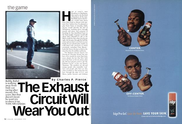 Article Preview: The Exhaust Circuit Will Wear You Out, November 1998 | Esquire
