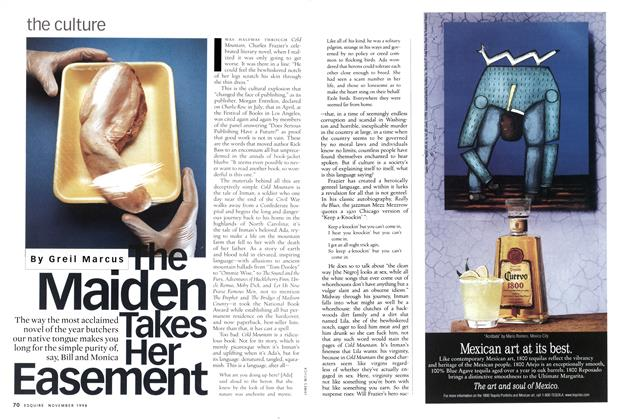 Article Preview: The Maiden Takes Her Easement, November 1998 | Esquire