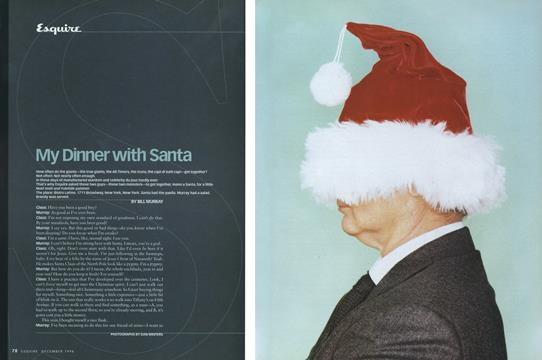 My Dinner with Santa - December | Esquire