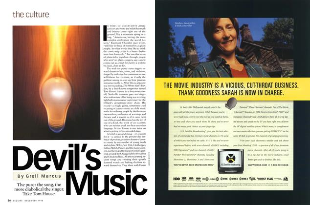 Article Preview: Devil's Music, December 1998 | Esquire