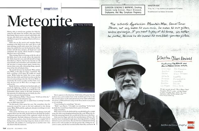 Article Preview: Meteorite, DECEMBER 1998 1998 | Esquire