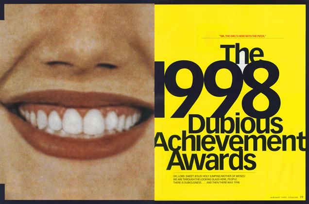 The 1998 Dubious Achievement Awards