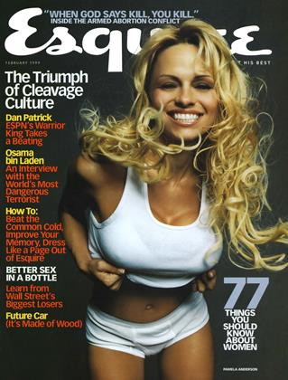 Cover for the February 1999 issue