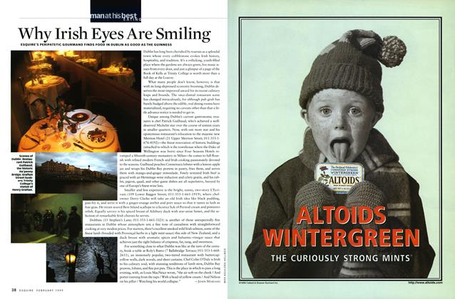 Article Preview: Why Irish Eyes Are Smiling, February 1999 | Esquire