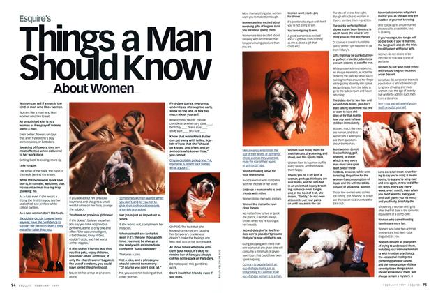 Things a Man Should Know About Women