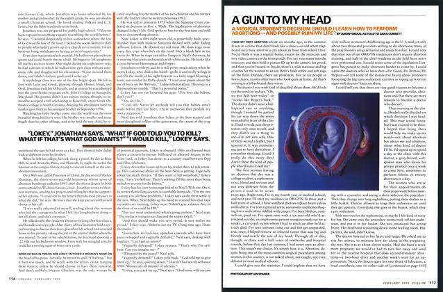 Article Preview: A Gun To My Head , FEBRUARY 1999 1999 | Esquire