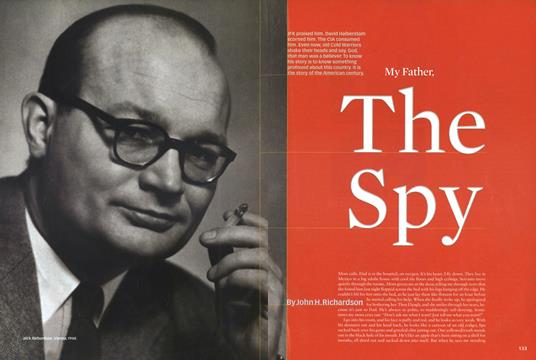 My Father, the Spy - March | Esquire
