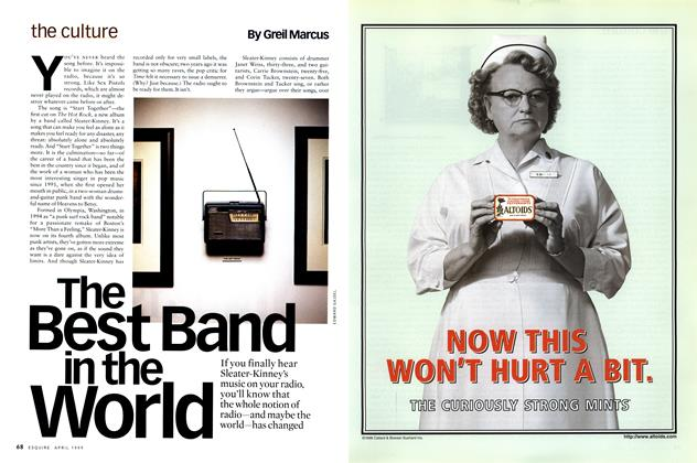 Article Preview: The Best Band in the World, April 1999 | Esquire