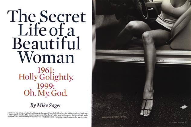 The Secret Life of a Beautiful Woman