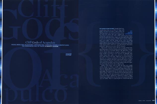 Article Preview: Cliff Gods of Acapulco, April 1999 | Esquire