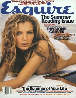 Cover for the July 1999 issue